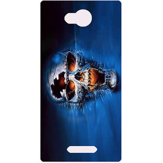 Amagav Printed Back Case Cover for Micromax Canvas Spark 3 499MmSpark3
