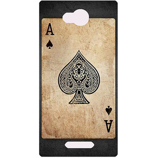 Amagav Printed Back Case Cover for Lava A59 620LavaA59