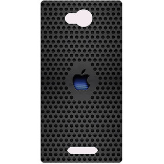 Amagav Printed Back Case Cover for Micromax Canvas Spark 3 639MmSpark3