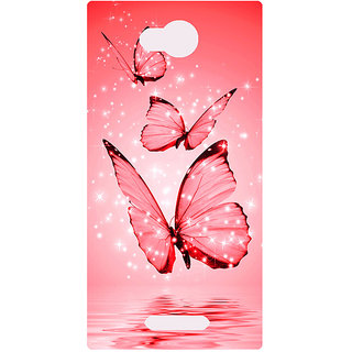 Amagav Printed Back Case Cover for Micromax Canvas Spark 3 665MmSpark3