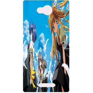 Amagav Printed Back Case Cover for Lava A59 78LavaA59