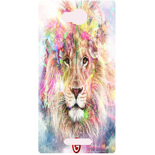 Amagav Printed Back Case Cover for Lava A59 126LavaA59