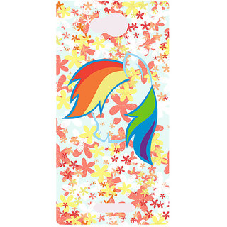 Amagav Printed Back Case Cover for Lava A59 130LavaA59