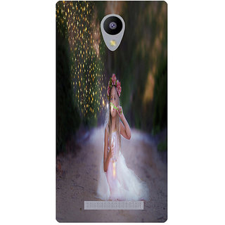 Amagav Printed Back Case Cover for Lava A48 190LavaA48