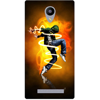 Amagav Printed Back Case Cover for Lava A48 336LavaA48