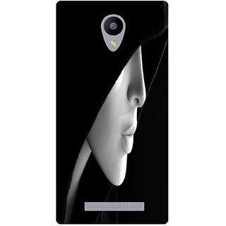 Amagav Printed Back Case Cover for Lava A48 444LavaA48