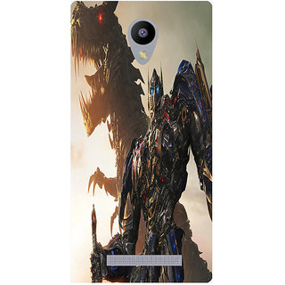 Amagav Printed Back Case Cover for Lava A48 532LavaA48
