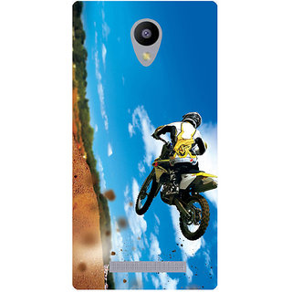 Amagav Printed Back Case Cover for Lava A48 557LavaA48