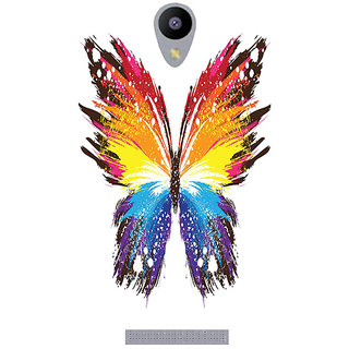Amagav Printed Back Case Cover for Lava A48 430LavaA48