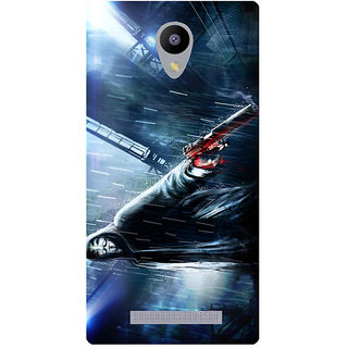 Amagav Printed Back Case Cover for Lava A48 331LavaA48