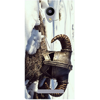Amagav Printed Back Case Cover for Lava A48 555LavaA48