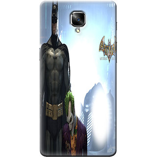 One Plus Three Mobile Back Cover