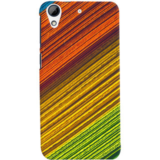 ColourCrust HTC Desire 728 / 728G / Dual Sim Mobile Phone Back Cover With D287 - Durable Matte Finish Hard Plastic Slim Case