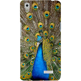 ColourCrust Oppo R7 Mobile Phone Back Cover With D291 - Durable Matte Finish Hard Plastic Slim Case