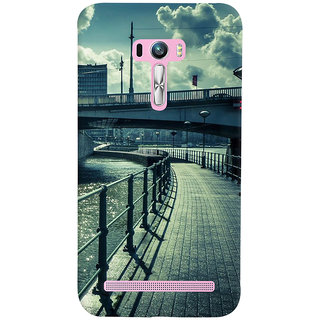 ColourCrust Asus Zenfone Selfie ZD551KL Mobile Phone Back Cover With D290 - Durable Matte Finish Hard Plastic Slim Case
