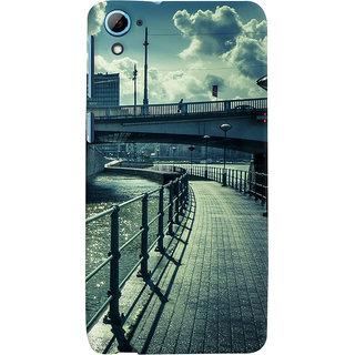 ColourCrust HTC Desire 826/Dual Sim Mobile Phone Back Cover With D290 - Durable Matte Finish Hard Plastic Slim Case