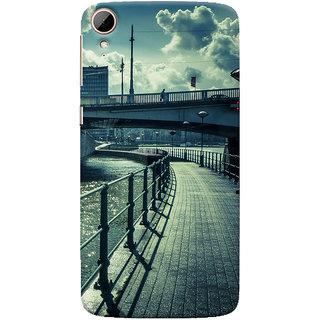 ColourCrust HTC Desire 828 / Dual Sim Mobile Phone Back Cover With D290 - Durable Matte Finish Hard Plastic Slim Case