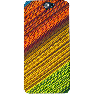 ColourCrust HTC One A9 Mobile Phone Back Cover With D287 - Durable Matte Finish Hard Plastic Slim Case