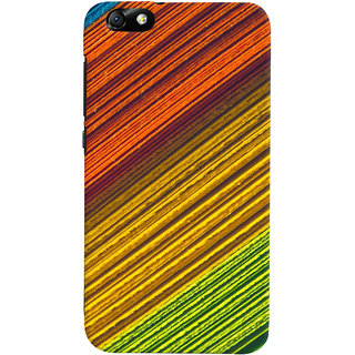 ColourCrust Huawei Honor 4X / Dual Sim / Glory Play Mobile Phone Back Cover With D287 - Durable Matte Finish Hard Plastic Slim Case