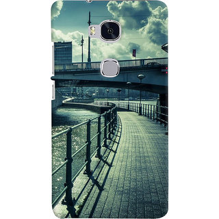 ColourCrust Huawei Honor 5X / Dual Sim Mobile Phone Back Cover With D290 - Durable Matte Finish Hard Plastic Slim Case