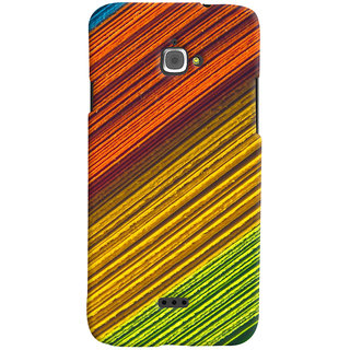 ColourCrust Infocus M350 Mobile Phone Back Cover With D287 - Durable Matte Finish Hard Plastic Slim Case