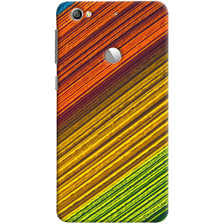 ColourCrust LeEco LE1S Mobile Phone Back Cover With D287 - Durable Matte Finish Hard Plastic Slim Case