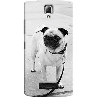ColourCrust Lenovo A2010 Mobile Phone Back Cover With D296 - Durable Matte Finish Hard Plastic Slim Case