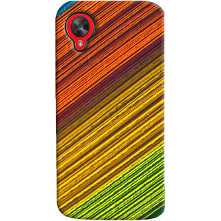 ColourCrust LG Google Nexus 5 Mobile Phone Back Cover With D287 - Durable Matte Finish Hard Plastic Slim Case