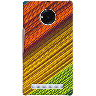 ColourCrust Micromax Yuphoria Mobile Phone Back Cover With D287 - Durable Matte Finish Hard Plastic Slim Case