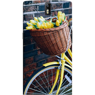 ColourCrust OnePlus One Mobile Phone Back Cover With D294 - Durable Matte Finish Hard Plastic Slim Case