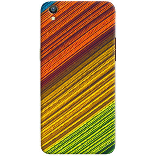 ColourCrust Oppo F1 Plus Mobile Phone Back Cover With D287 - Durable Matte Finish Hard Plastic Slim Case