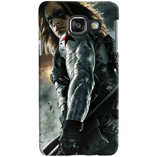 ColourCrust Samsung Galaxy A3 A310 (2016 Edition) Mobile Phone Back Cover With Bucky - Durable Matte Finish Hard Plastic Slim Case