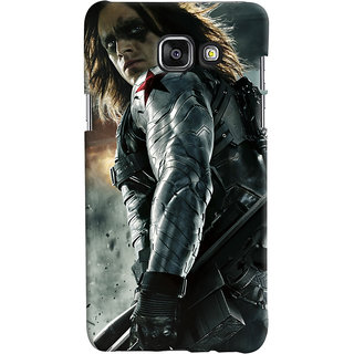 ColourCrust Samsung Galaxy A7 A710 (2016 Edition) Mobile Phone Back Cover With Bucky - Durable Matte Finish Hard Plastic Slim Case