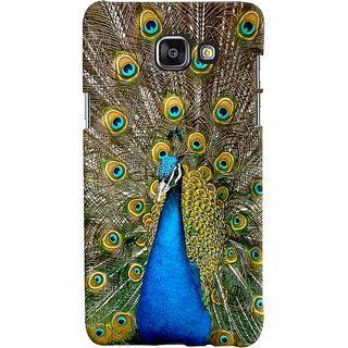 ColourCrust Samsung Galaxy A7 A710 (2016 Edition) Mobile Phone Back Cover With D291 - Durable Matte Finish Hard Plastic Slim Case