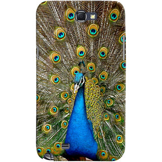 ColourCrust Samsung Galaxy Note 2 Mobile Phone Back Cover With D291 - Durable Matte Finish Hard Plastic Slim Case