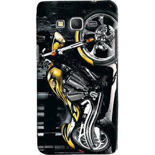ColourCrust Samsung Galaxy Grand Prime Mobile Phone Back Cover With D292 - Durable Matte Finish Hard Plastic Slim Case
