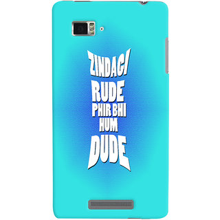 Lenovo K910 Mobile Back Cover
