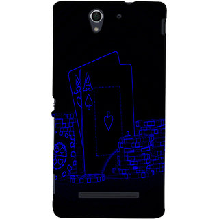 Sony Xperia C3 Mobile Back Cover