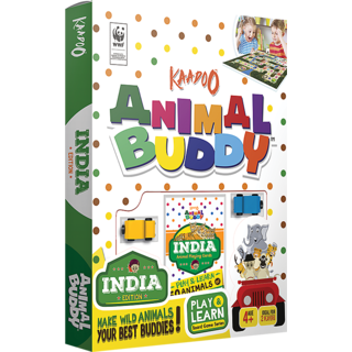 Animal Buddy-India Edition Board Game
