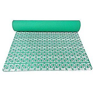Gravolite Triangle Print Design 5 MM Thickness, 3 Feet Wide Yoga Mat