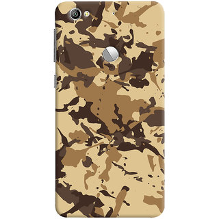 ColourCrust LeEco LE1S Mobile Phone Back Cover With Millitary Pattern Style - Durable Matte Finish Hard Plastic Slim Case
