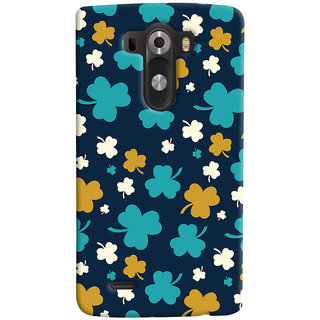 ColourCrust LG G3/ Optimus G3 Mobile Phone Back Cover With Floral Pattern - Durable Matte Finish Hard Plastic Slim Case