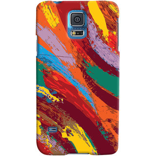 ColourCrust Samsung Galaxy S5 Mobile Phone Back Cover With Colourful Pattern Style - Durable Matte Finish Hard Plastic Slim Case
