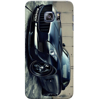 ColourCrust Samsung Galaxy S6 Edge Plus Mobile Phone Back Cover With Kicherer Mercedes-Benz Car - Durable Matte Finish Hard Plastic Slim Case