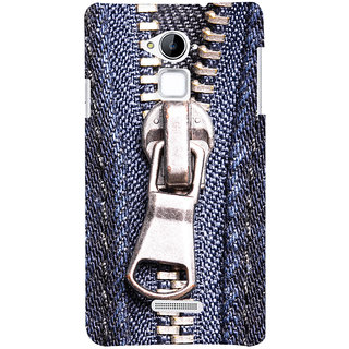 ColourCrust Coolpad Note 3 Mobile Phone Back Cover With Denim Look - Durable Matte Finish Hard Plastic Slim Case
