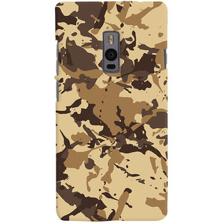 ColourCrust OnePlus 2 Mobile Phone Back Cover With Millitary Pattern Style - Durable Matte Finish Hard Plastic Slim Case