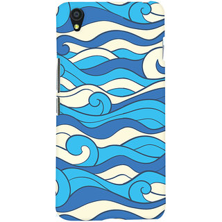 ColourCrust OnePlus X Mobile Phone Back Cover With Pattern Style - Durable Matte Finish Hard Plastic Slim Case