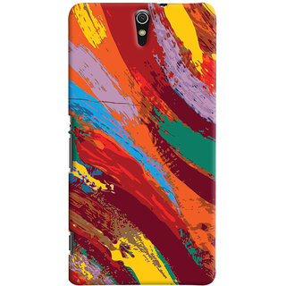 ColourCrust Sony Xperia C5 /Ultra Dual Sim Mobile Phone Back Cover With Colourful Pattern Style - Durable Matte Finish Hard Plastic Slim Case