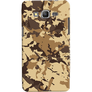 ColourCrust Samsung Galaxy Grand Prime Mobile Phone Back Cover With Millitary Pattern Style - Durable Matte Finish Hard Plastic Slim Case