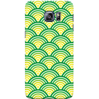 ColourCrust Samsung Galaxy S6 Edge Plus Mobile Phone Back Cover With Pattern Style - Durable Matte Finish Hard Plastic Slim Case